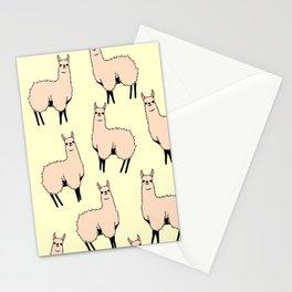 Lamas glamas Stationery Cards