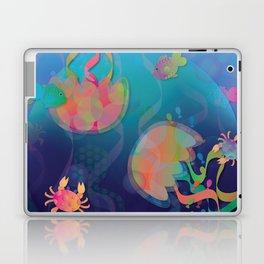 Neon Underwater Party Laptop & iPad Skin
