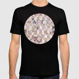 Blush Quartz Honeycomb T-shirt