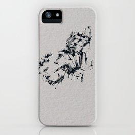 Splaaash Series - Dark Force Ink iPhone Case