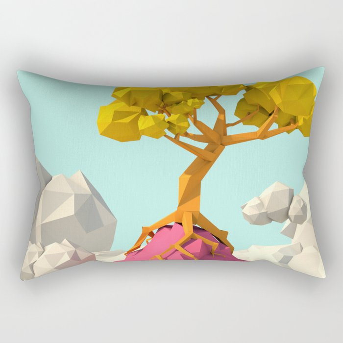 sky tree Rectangular Pillow
