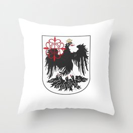 Flag of Buenos Aires Throw Pillow
