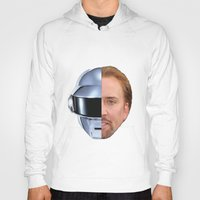 nicolas cage Hoodies featuring Daft Cage by Jared Cady