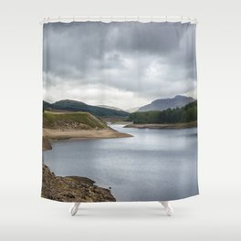 Lakes in Scotland Shower Curtain