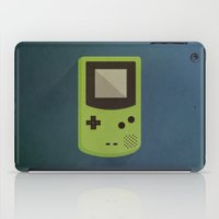 gameboy iPad Cases featuring GameBoy by Beardy Graphics