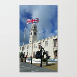 King's Warf Canvas Print