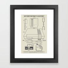 Entertainment System (light) Framed Art Print