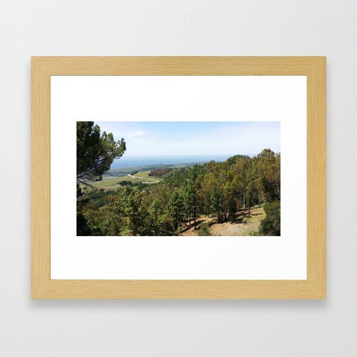 Hearst Estate  Framed Art Print