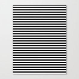 Horizontal Stripes Canvas Print