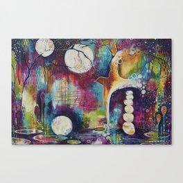 Moonlight Flight Canvas Print