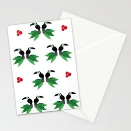 "Collection ""Love Birds"" impression ""Tropico Forest"" Stationery Cards"