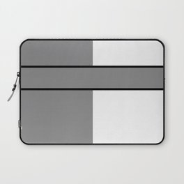 Team Color 6....gray.white Laptop Sleeve