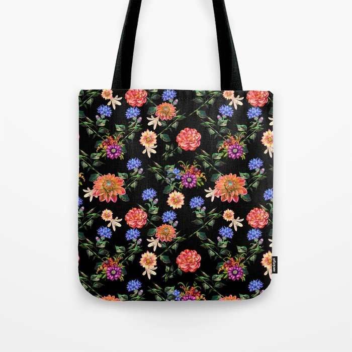 Secret Winter Garden Tote Bag