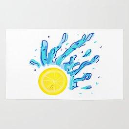 Lemon Splash Rug