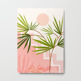 Summer in Belize Metal Print