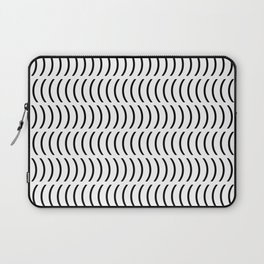 Smiley Small B&W Laptop Sleeve