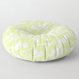 Lily of the Valley repeat Floor Pillow