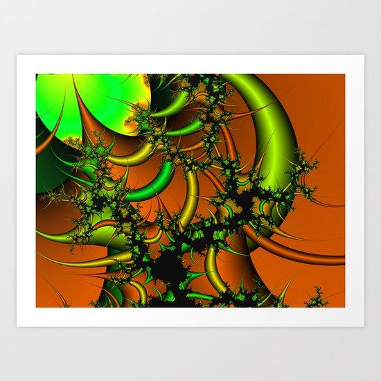 Destruction of Nature Art Print