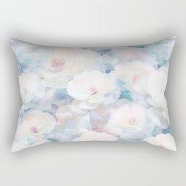 Pastel Flower Field Rectangular Pillow