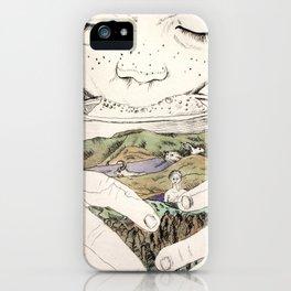 MOUNTAIN MILK iPhone Case