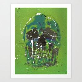 Skull #5 Art Print