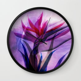 the call of the flora Wall Clock
