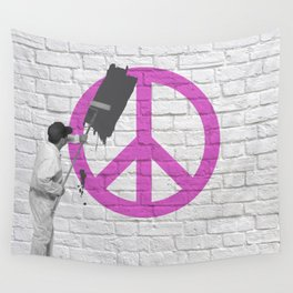 No Peace Allowed! Wall Tapestry
