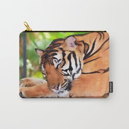 Sleeping Tiger Carry-All Pouch