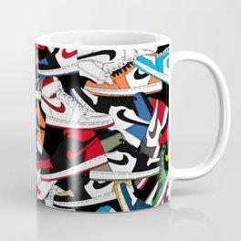 Jordan 1 Pattern Coffee Mug