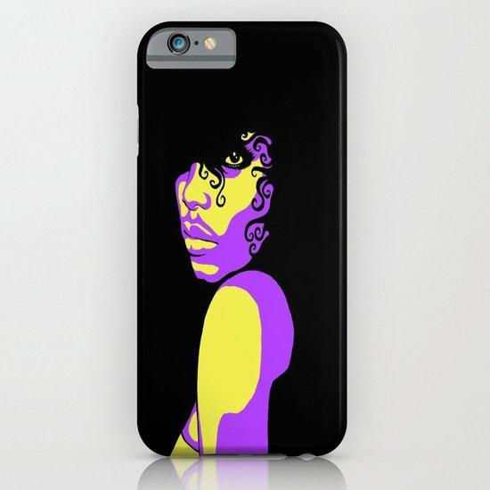 Purple Rain iPhone & iPod Case