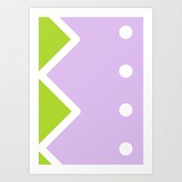 Geometric Calendar - Day 40 Art Print