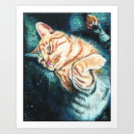 Is This Your Cat? Art Print