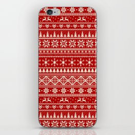 Christmas Jumper iPhone Skin