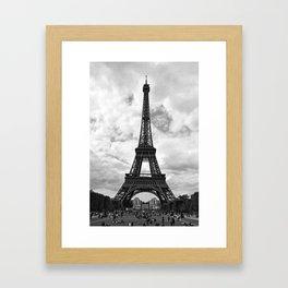 Vintage Eiffel Framed Art Print