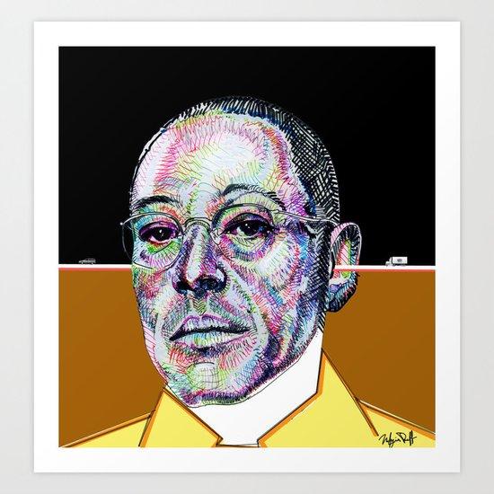 Gus Fring BREAKING BAD Art Print
