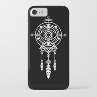 cosmic iPhone & iPod Cases featuring Cosmic Dreamcatcher by Picomodi