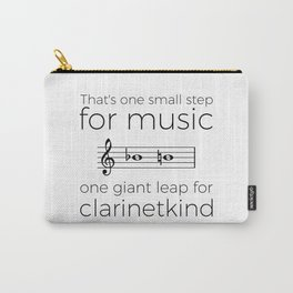 Crossing the break (clarinet) Carry-All Pouch
