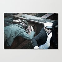 military Canvas Prints featuring Military by Michael C Swartz