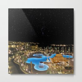 Qasr Al Sarab Desert Resort in Abu Dhabi 2 Metal Print