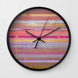 The Texture Of MisCommunication Wall Clock