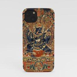 Tantric Buddhist Vajrabhairava Deity 2 iPhone Case