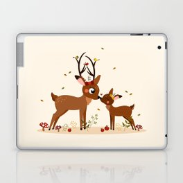 Bisou ma biche Laptop & iPad Skin
