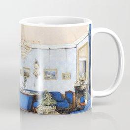 Franz Alt - Biedermeier salon - Digital Remastered Edition Coffee Mug