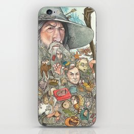 Gandalf's Beard iPhone Skin