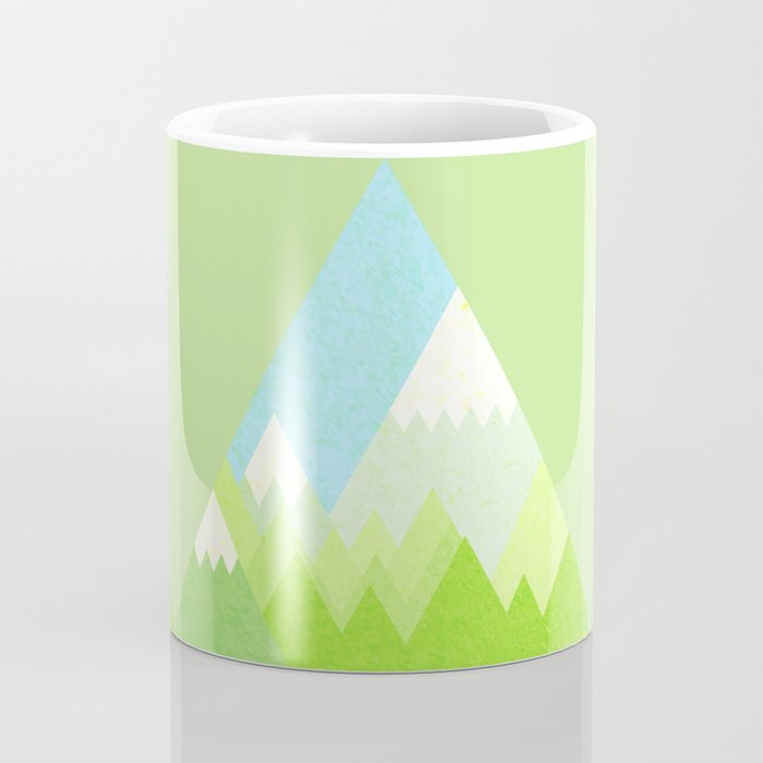 national park geometric pattern Coffee Mug