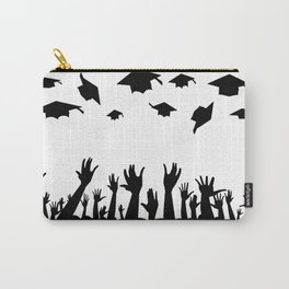 Students Throwing Caps Carry-All Pouch