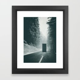Middle Framed Art Print