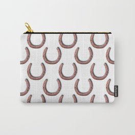 Rusty Horseshoe Polka Dot Pattern Carry-All Pouch