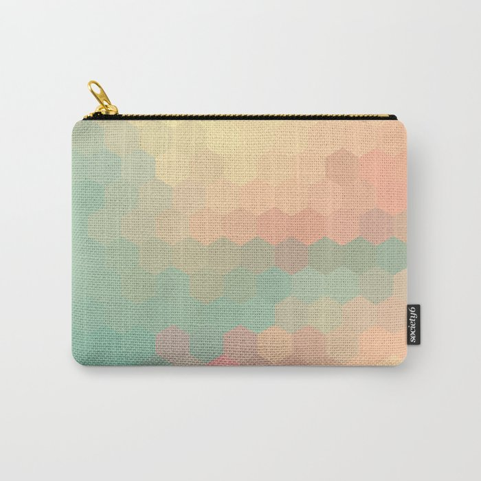 PEACH AND MINT HONEY Carry-All Pouch