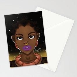 Adaku by Night Stationery Cards